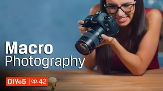 Photography Tips – Macro Photography – Extreme Close-up for Beginners 📷 DIY in 5 Ep 42