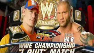 WWE Over The Limit 2010 Match Card