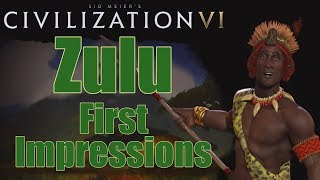 Civilization 6: First Impressions - Zulu Civilization