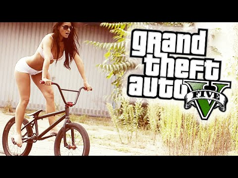 "GTA 5 INSANE EXTREME BMX STUNTS! ""THE SHOW"" (GTA 5 STUNT MONTAGE)!"