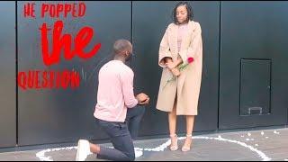 OUR SISTER GOT ENGAGED!!! | Live Proposal Vlog