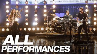 Download Lagu All Of We Three's Full AGT Performances - America's Got Talent 2018 Gratis STAFABAND