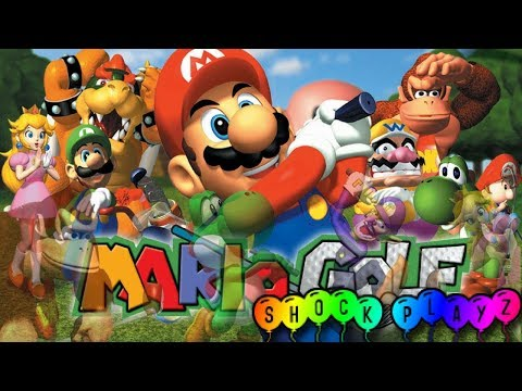 Shock Playz: Mario Golf - [Live] Nintendo 64 Stream | Birdies Or Bogeys?