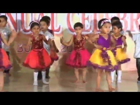 Chan Kiti Disate Fulpakharu - Hd English Medium School Gathering Dance - 2013-14 video
