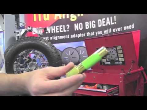 SEMA SHOW AWARD WINNER BEST NEW PRODUCT LAS VEGAS WHEEL ALIGNMENT