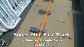 Hot Wheels Super Mile Fast Track - Ferrari LaFerrari Test Car - Speed Test