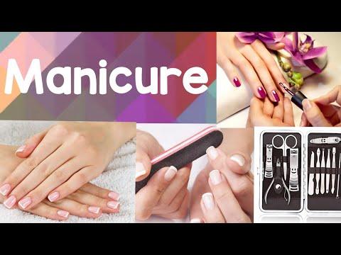 Manicure at home    Arti