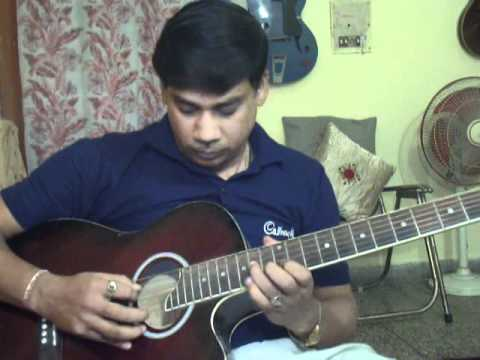 Yeh to sach hai ki bhagwan hai on Guitar