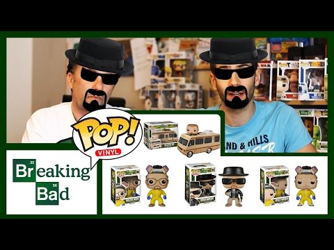 FUNKO POP Recensione BREAKING BAD Review (ITA) Heisenberg   Walter White   Jesse Pinkman