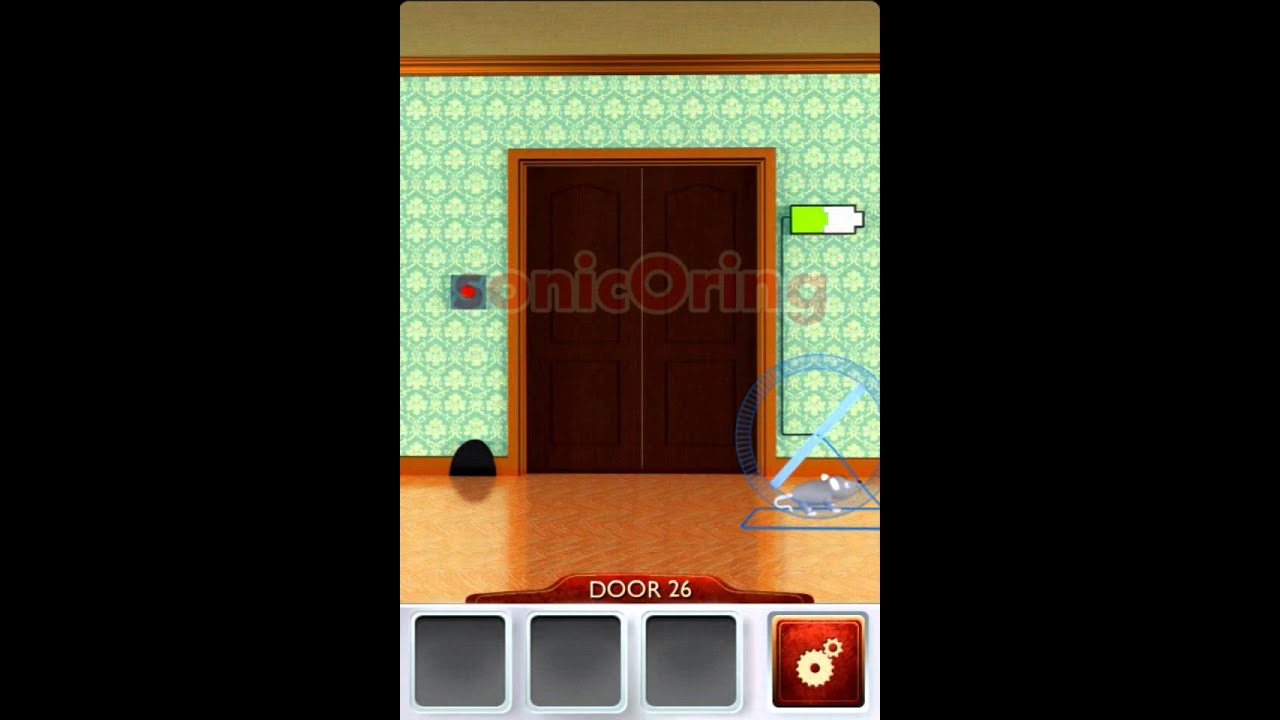 100 doors 2 beta level 26 walkthrough cheats youtube for 16 door puzzle solution