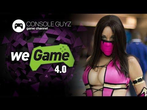 🎮 Console Guyz ™️ WEGAME 4.0 Игровая выставка в Киеве фестиваль косплея, киберспорта 21 апреля