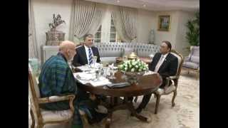 President Gul hosts dinner for Presidents of Pakistan and Afghanistan