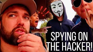 Spying On The Hacker With The Ohana Adventure!