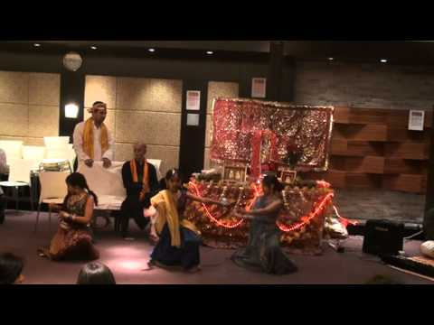 Neha's Performance On Maine Payal Hai Chhankai At Sadashiv Temple Tung Chung video