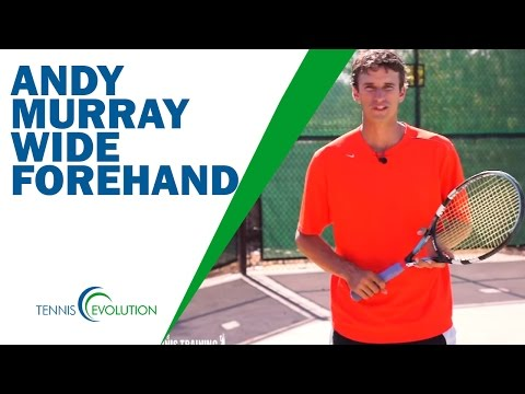 ANDY MURRAY FOREHAND | How Andy Murray Hits Forehand Buggy Whip