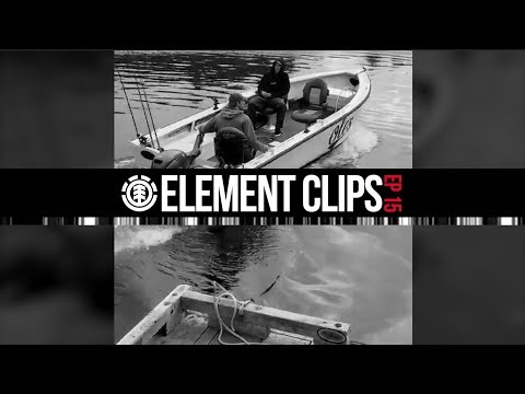 Element Clips #15 - Gabriel Fortunat, Sascha Daley skating the fishing dock, Nick Garcia & More...