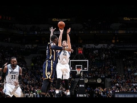 Kevin Love's 42 Points Leads the Timberwolves Over the Pacers