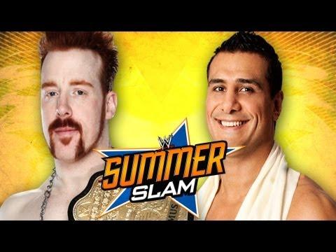 WWE SummerSlam 2012 -  Alberto Del Rio vs. Sheamus World Heavyweight Title Full Match Prediction