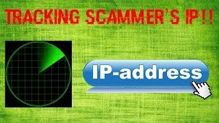 Tracking a Scammer's IP Address!