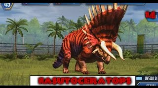 Jurassic World - LEVEL 40 NASUTOCERATOPS