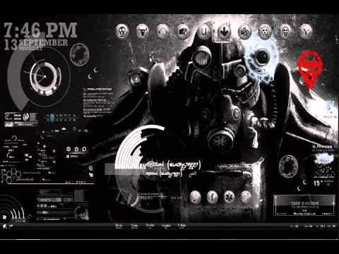 Best Looking Desktop Ever BlackStreet Theme Rainmeter