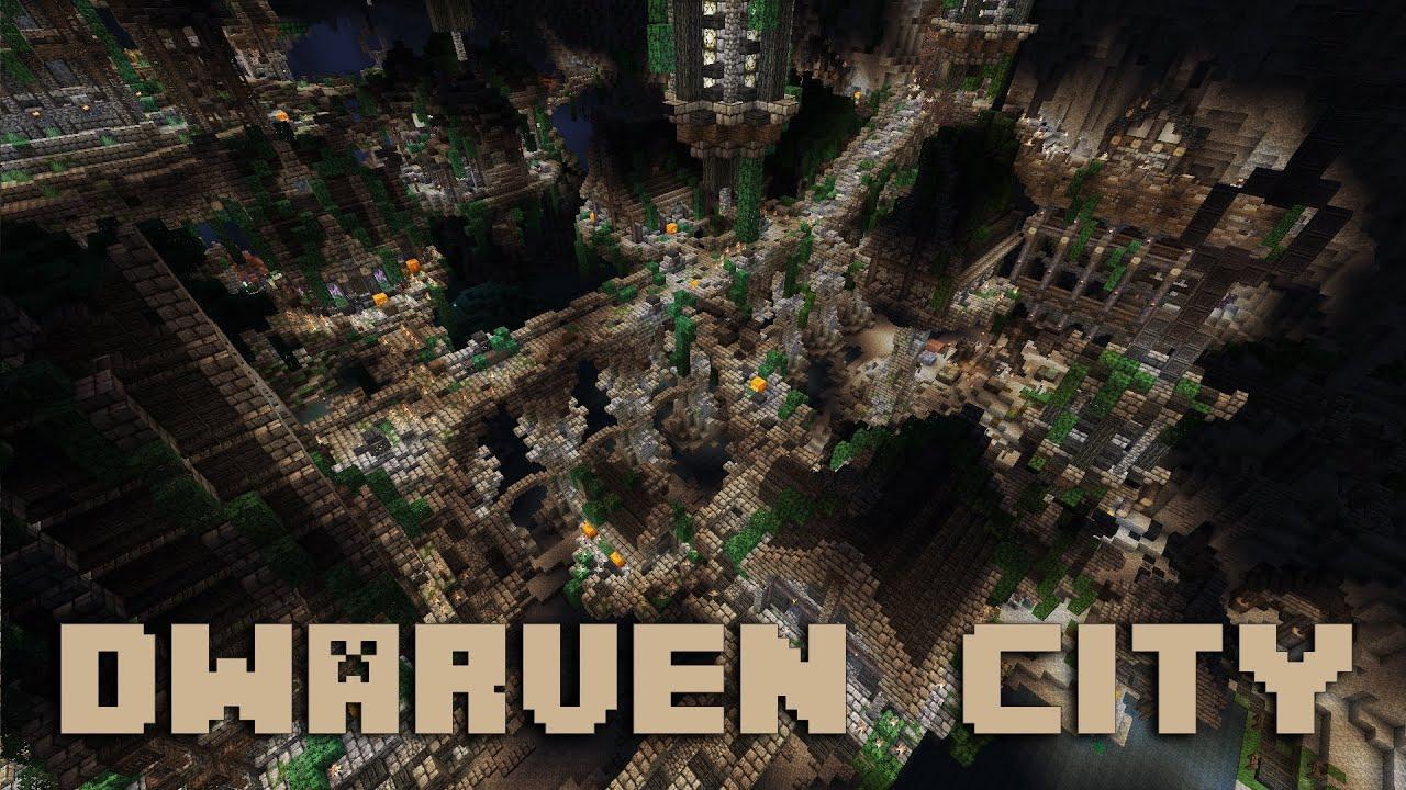 Minecraft Dwarven City Cinematic Ep 04 Youtube