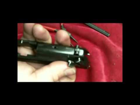 Beretta 92f firing pin removal and installation.