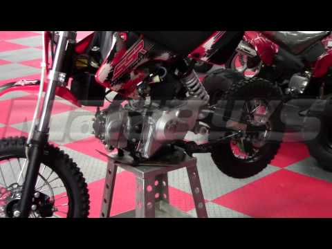 SSR 125 XRA Pit Bike / Dirt Bike -- Fully Automatic! FREE Shipping! - Motobuys