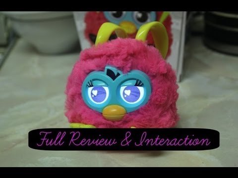 Furby Party Rockers (Pink Loveby) - Full Review & Interaction [HD]