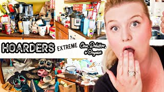 HOARDER!!! EXTREME CLEAN, DECLUTTER AND ORGANIZE | KITCHEN CLEANING MOTIVATION | CLEAN WITH ME  2019