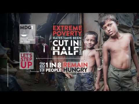 Let's Step Up #MDGMomentum