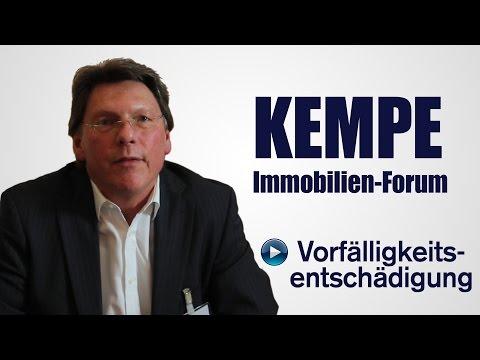 Vorfälligkeitsentschädigung - KEMPE Immobilien-Forum
