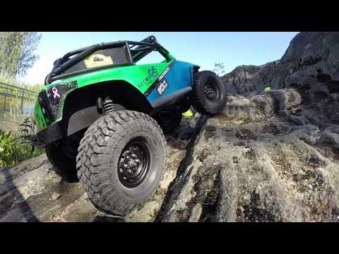 RC Nennox - PitBull Tires Rock Beast, Mad Beast & Growlers on the rocks