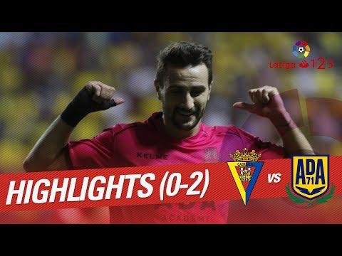 Resumen de Cádiz CF vs AD Alcorcón (0-2)