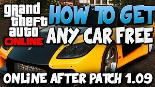 GTA5 | How to Get Offline Cars Online After patch 1.09 (EC)