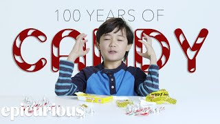 Kids Try 100 Years of Candy | Bon Appetit