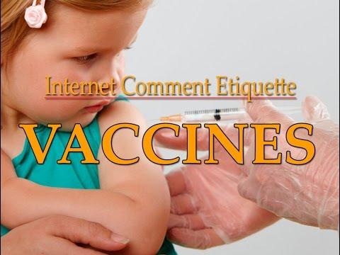 Internet Vaccine Etiquette with Erik
