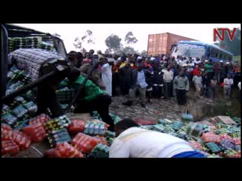 Masaka road accident claims two including traffic officer