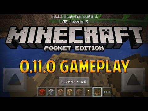 [BETA] 0.11.0 UPDATE GAMEPLAY & REVIEW! - Minecraft Pocket Edition