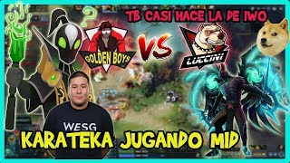 EL NUEVO TEAM DE KINGTEKA VS LUCCINI!! [BO1] LPG | DOTA 2