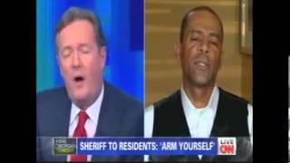 The Daily Digest - Milwaukee Sheriff David Clarke Debates Piers Morgan re Gun Rights