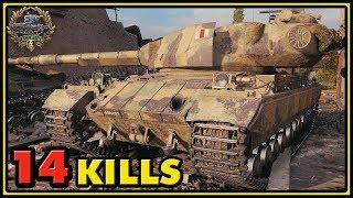 Super Conqueror - 14 Kills - 1 vs 6 - World of Tanks Gameplay