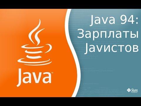 Урок по Java 94: Сколько зарабатывают Java программисты в Украине