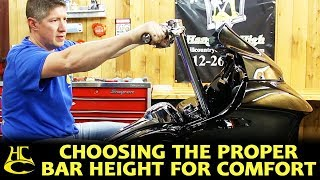 How to Choose the Proper Bar Height for Max Comfort - Harley Davidson