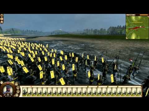 40 Land Units vs 24 Gatling Guns (Shogun 2: Total War: Fall Of The Samurai) by DiplexHeated