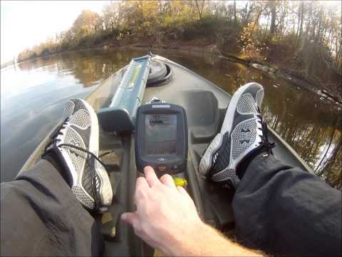 Humminbird Piranhamax 170 Fish Finder Review - in water