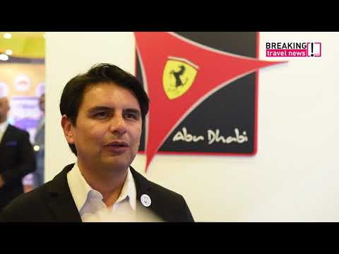 Jesse Vargas, general manager, Ferrari World Abu Dhabi