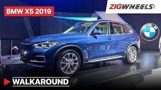 BMW X5 2019 India Walkaround : Interiors, Features, Prices Specs and More!   ZigWheels.com