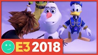 Kingdom Hearts 3 E3 2018 Trailer - Kinda Funny Trailer Breakdown