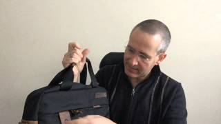 Waterfield Bolt Briefcase Video Review
